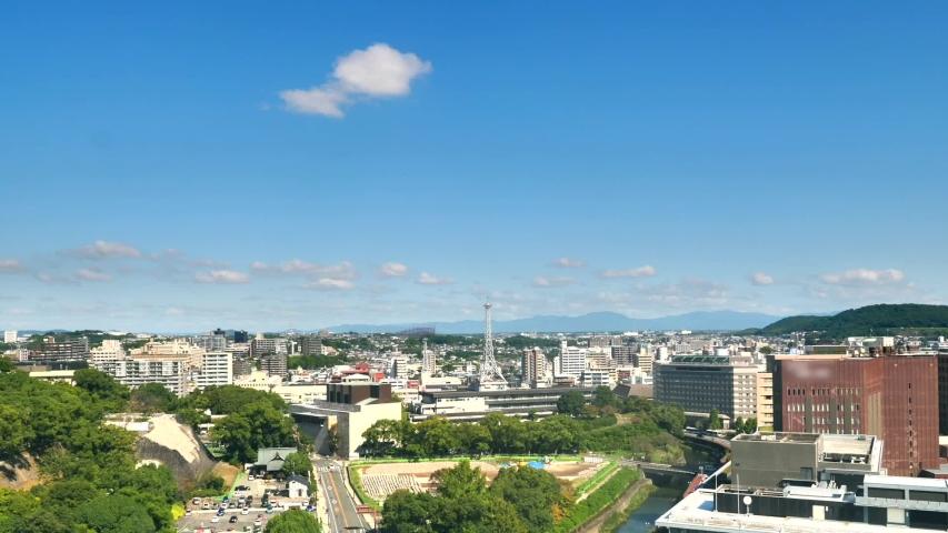 Time lapse of Fukuoka city in Japan | Shutterstock HD Video #1052808866