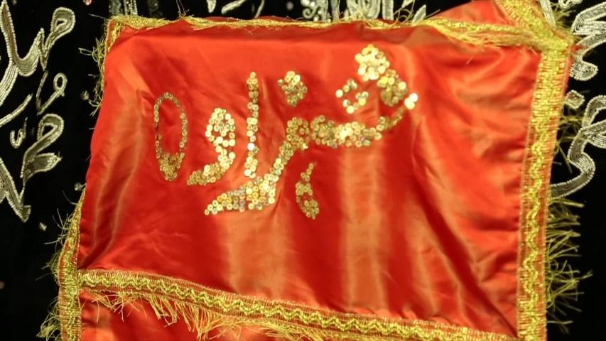 Beautiful Religious Flags (Alam) In Karachi, Pakistan