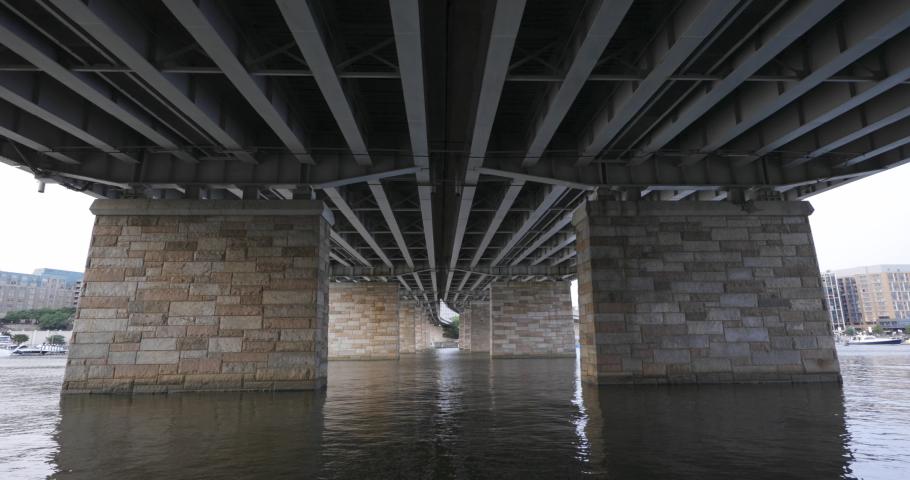 The George Mason Memorial Bridge in Washington, DC