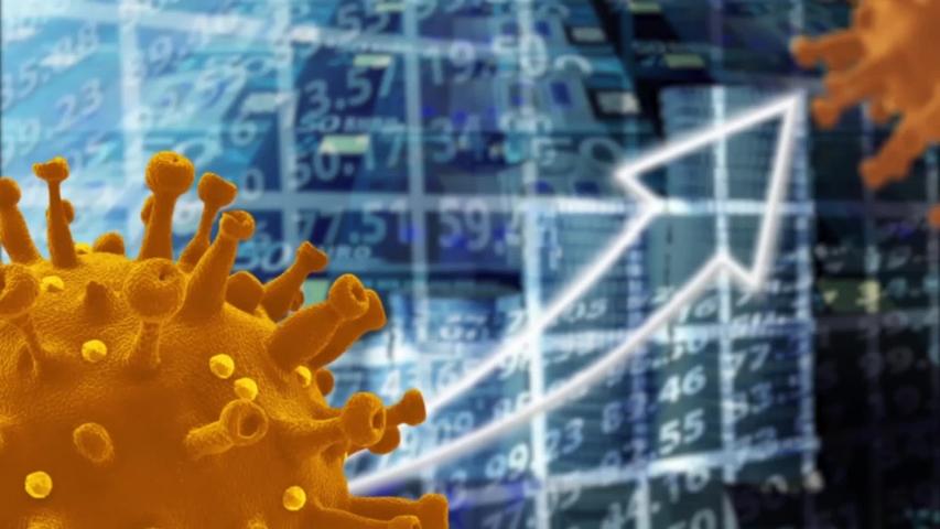 Coronavirus financial crisis Covid 19 economy concept | Shutterstock HD Video #1052948585