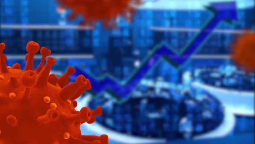 Coronavirus financial crisis Covid 19 economy concept | Shutterstock HD Video #1052948591