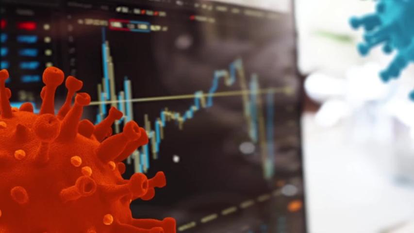 Coronavirus financial crisis Covid 19 economy concept | Shutterstock HD Video #1052948594