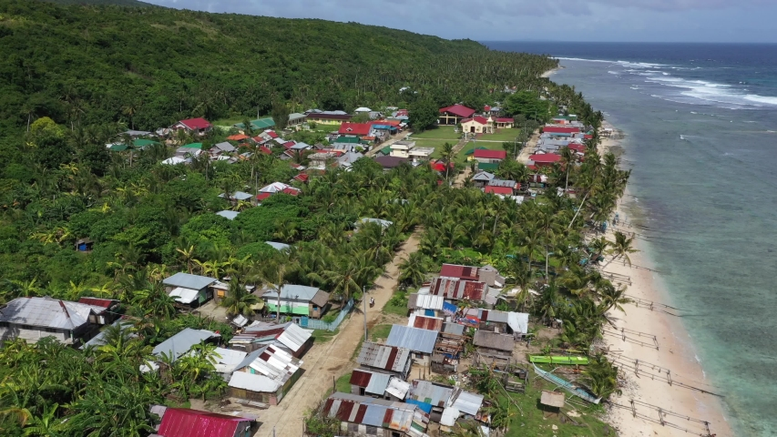Barangay, is the smallest administrative division in the Philippines and is the native Filipino term for a village, district or ward. | Shutterstock HD Video #1052964188