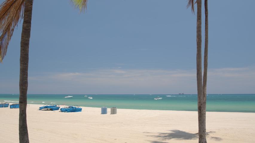 6k beach scene Fort Lauderdale shot on blackmagic braw camera