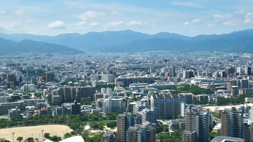 Landscape of Fukuoka city in Japan | Shutterstock HD Video #1053072827
