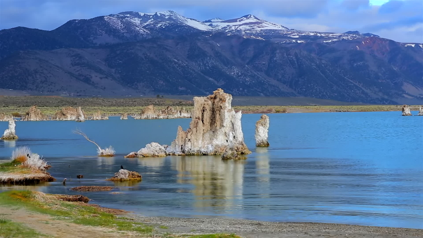 Early Morning Light on Tufa Towers, Mono Lake, California