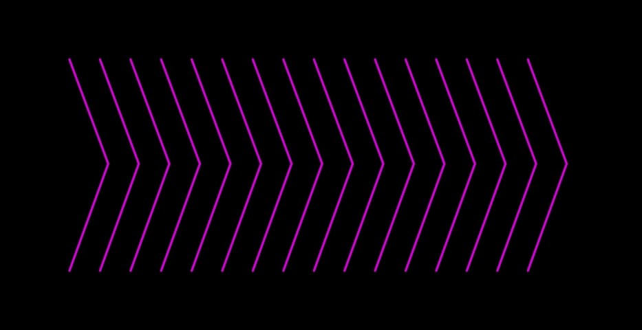 Purple arrows blinking, pointing to the right, 4k on a black background | Shutterstock HD Video #1053143069