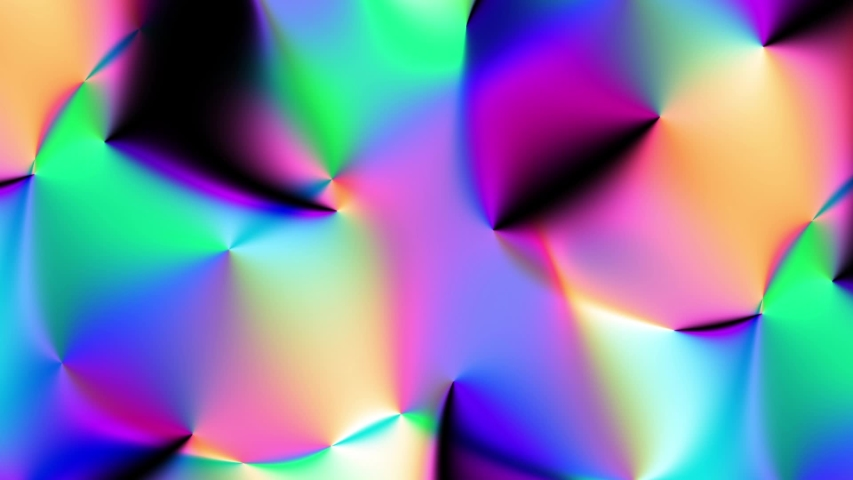Transforming blur holographic background. Psychedelic wavy animated abstract curved shapes. Looping footage. | Shutterstock HD Video #1053159599