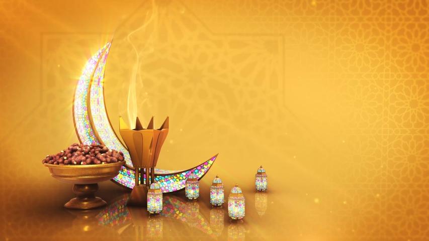 Eid background,ramadan background, Islamic 3d background
