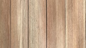 Top view wood texture animated move to right. 4K UHD, Video Clip.