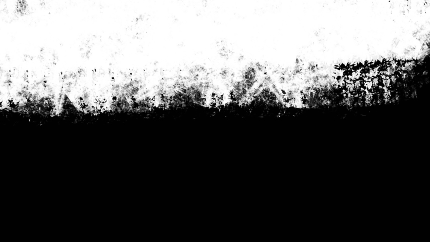 Paint Brush Stroke Frame Intro Background/ 4k animation of a realistic handmade black and white paint brush stroke filling sequence