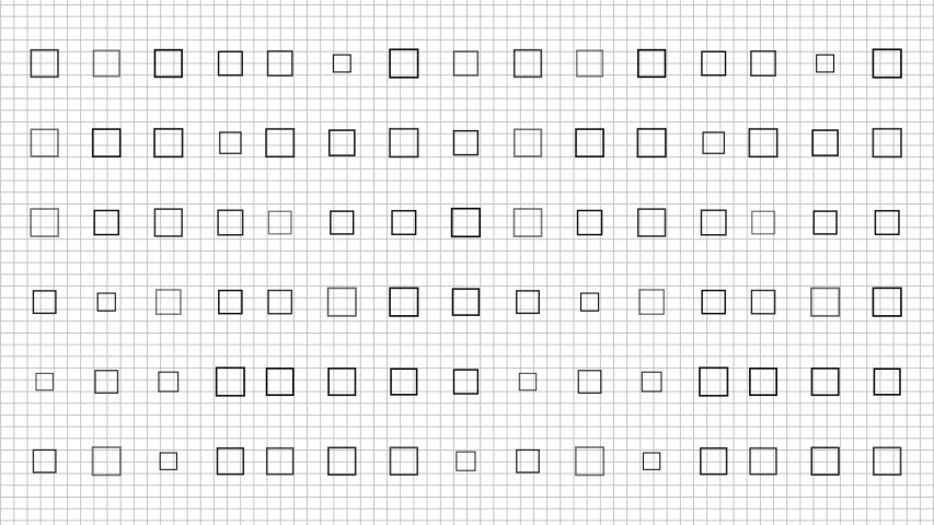 Seamless loop of background black and white grid. Perfect to use in your presentation. Textless copyspace to put your charts, graphs, and stats.  | Shutterstock HD Video #1053176684