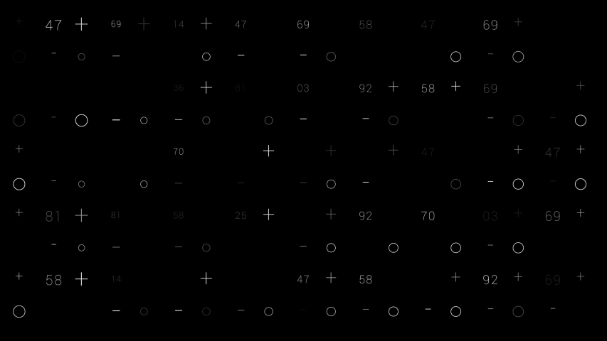 PNG Alpha.HUD elements grid.Shapes and numbers abstract technological animation.Animated SciFi texture background.Type 1 | Shutterstock HD Video #1053176897