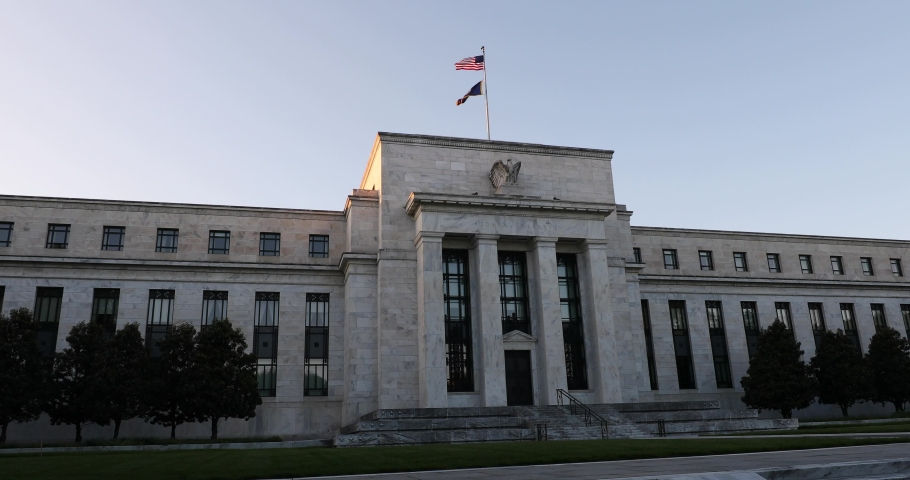 The Eccles Building in Washington, D.C. serves as the Federal Reserve System's headquarters.