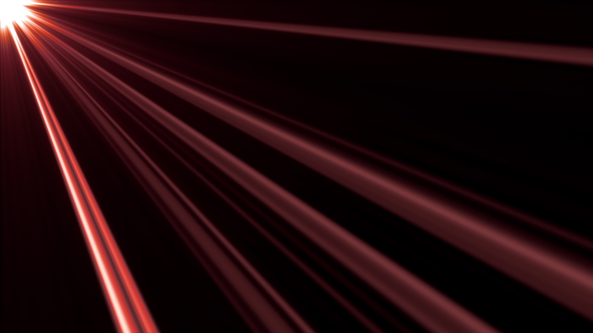 Seamless loop Light rays with shimmers streaks from the top left. Side diagonal light optical lens flares shiny animation art background 4 K Looping. Lighting rays simulation effect for overlay. | Shutterstock HD Video #1053260423