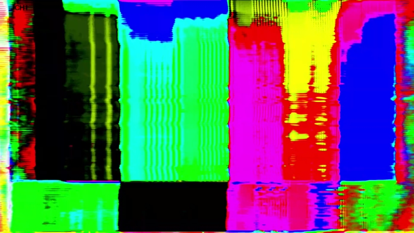 4K Analog Video Art Multicolor Abstract Shapes & Signal Noise Feedback Manipulation | Shutterstock HD Video #1053330308