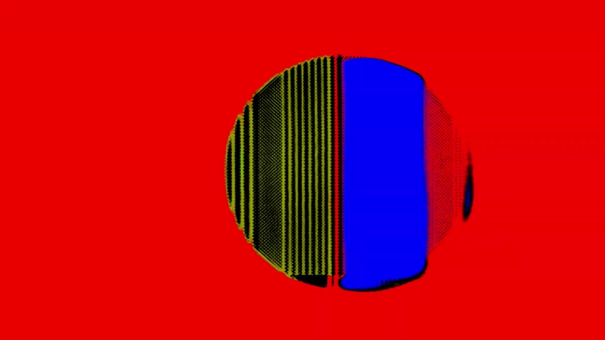 4K Analog Video Art Multicolor Abstract Shapes & Signal Noise Feedback Manipulation | Shutterstock HD Video #1053330311