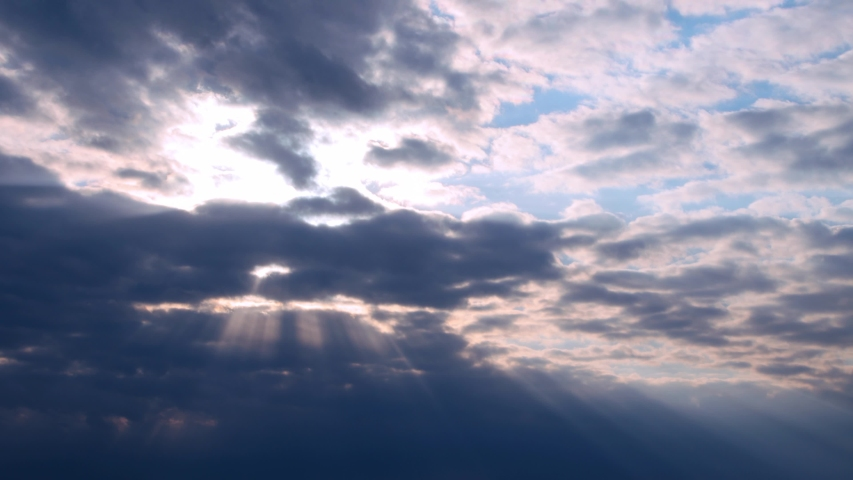 Timelapse of dramatic sky at dusk | Shutterstock HD Video #1053342731