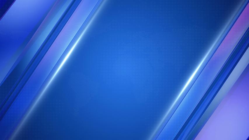 Virtual Studio Set Background.Blue broadcast background.News Background.abstract virtual screen background LOOP