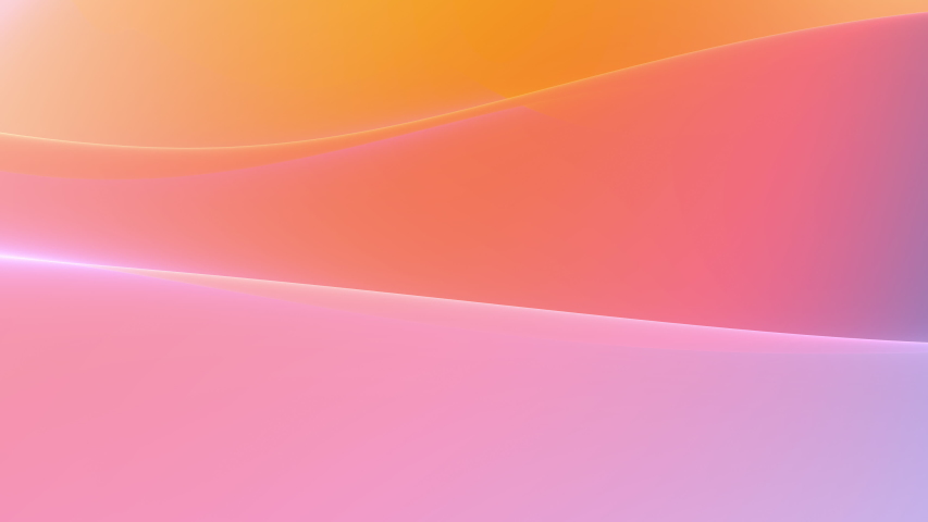 Gentle smooth multicolored gradients slowly waving on abstract digital surface, looped motion background | Shutterstock HD Video #1053385745