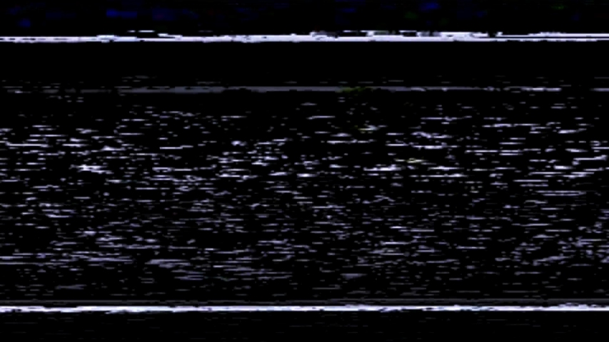 VHS Glitch Noise Overlay, VHS Lines, Nostalgic VHS-style look, Black screen | Shutterstock HD Video #1053473009