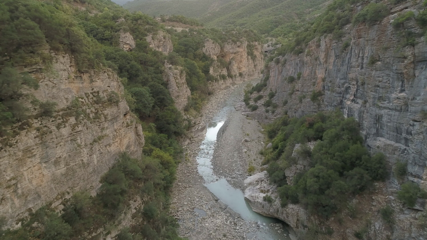 This canyon is from Albania in the Benja Thermal Baths of Permet.