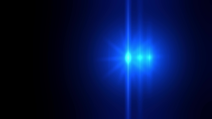 4k abstract animation simulating police lights on a car