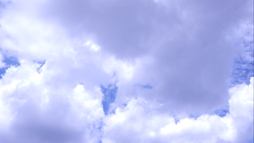 Beautiful blue sky with clouds background.Sky clouds.Sky with clouds weather nature cloud blue.Blue sky with clouds and sun 4k time lapse  | Shutterstock HD Video #1053491279