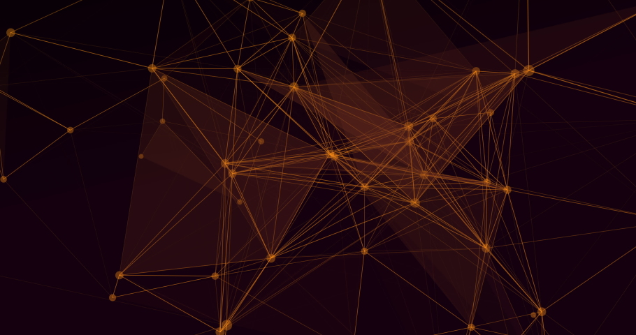 Polygon model medicine and network connection lines for technology concept   Shutterstock HD Video #1053554741