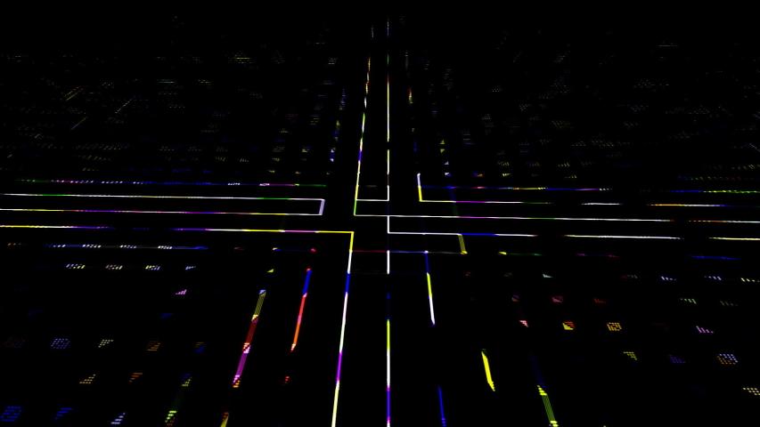 Digital matrix. Data center digital code futuristic information technology.   Shutterstock HD Video #1053576227