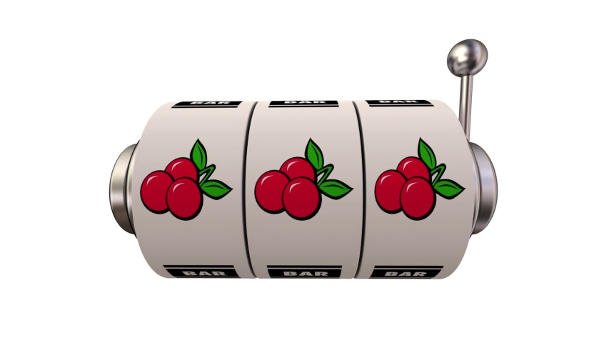 Slot Machine Wheels Three 3 Cherries Jackpot Winner 3d Animation | Shutterstock HD Video #1053834761
