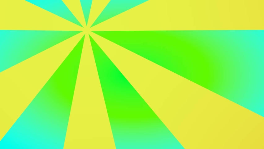 Motion footage background with colorful elements. . Background rotates. Transition motion footage background with colorful elements. Yellow and green colors.   Shutterstock HD Video #1053842900
