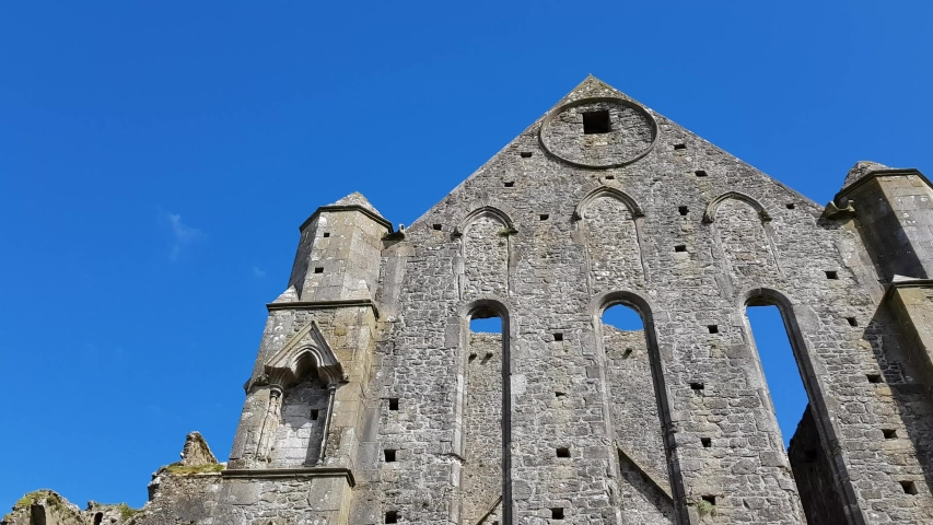The Rock of Cashel, Ireland | Shutterstock HD Video #1053926087