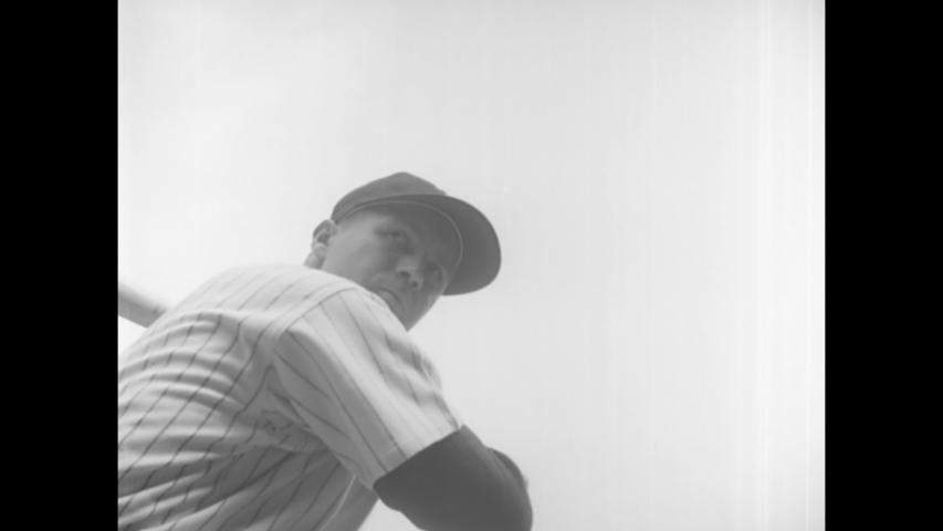 CIRCA 1950 - The New York Yankees defeat the Philadelphia Phillies at Yankee Stadium.
