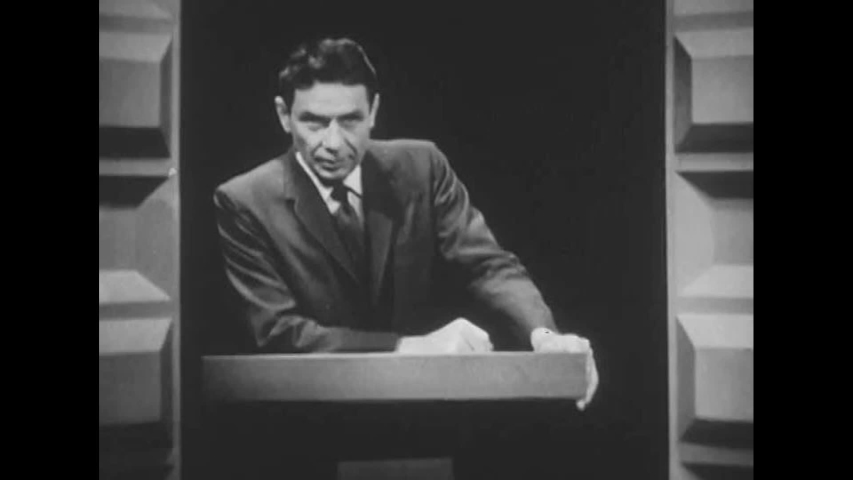 CIRCA 1960s - A presenter explains special missions and planning in a potentially radioactive environment, in 1963.