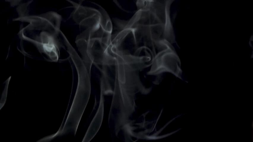 Mystery smoky fog fear vapor dark background effect footage | Shutterstock HD Video #1054045706