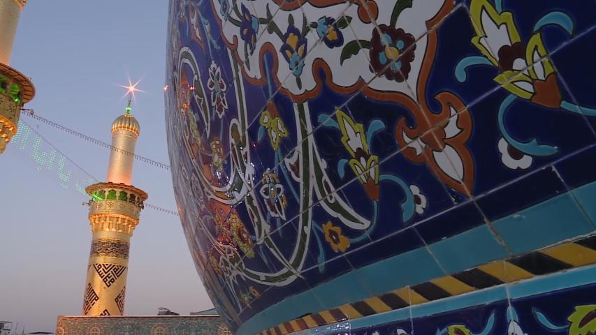 Karbala, Iraq : The shrine of Imam Abbas in Karbala, Iraq