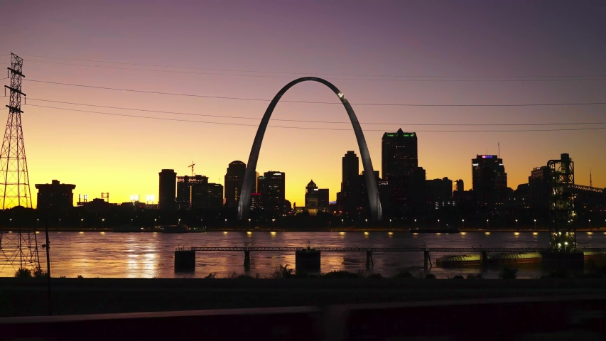St. Louis Day to Night Timelapse