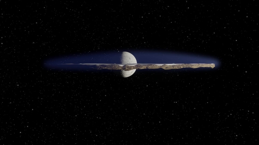 A 3D animation of the take-off and fly-by of a Flat Earth. Earth texture images courtesy of NASA.gov