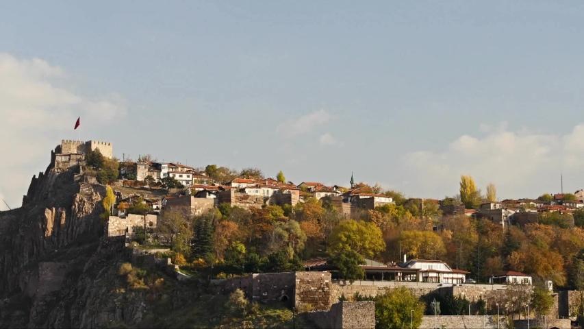 Tower ankara city kale  castle