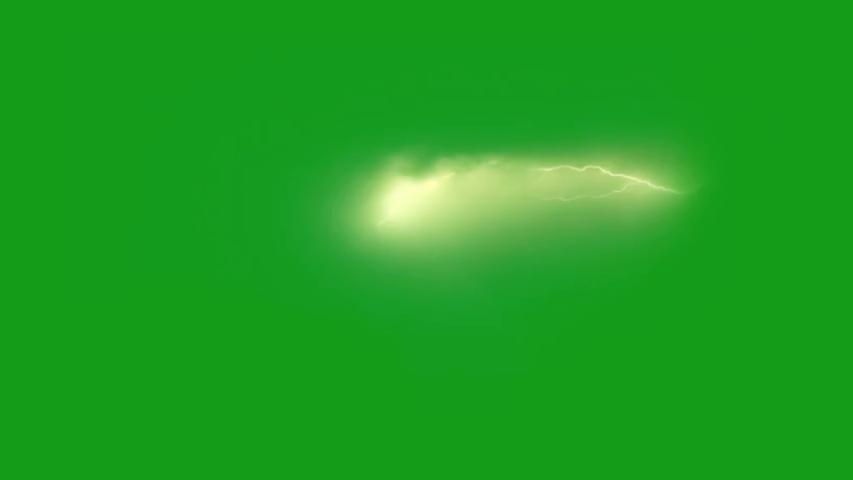 Lighting bolt green screen motion graphics | Shutterstock HD Video #1054297010