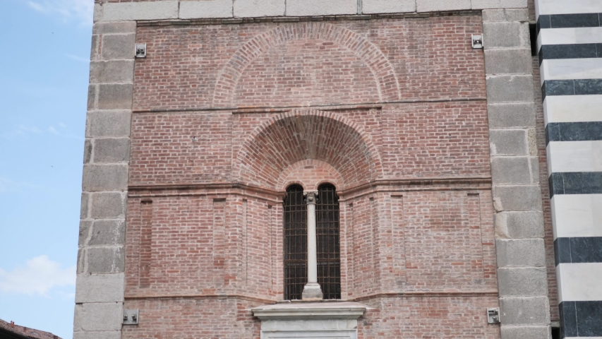 Monza bells tower in duomo square, Lombardy, Italy. | Shutterstock HD Video #1054297871