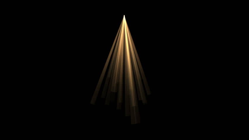 4k Abstract gold rays Stage Lighting hope light background,flare star sunlight,radiation ray laser energy,tunnel passage lines backdrop. 1219_4k #10543181