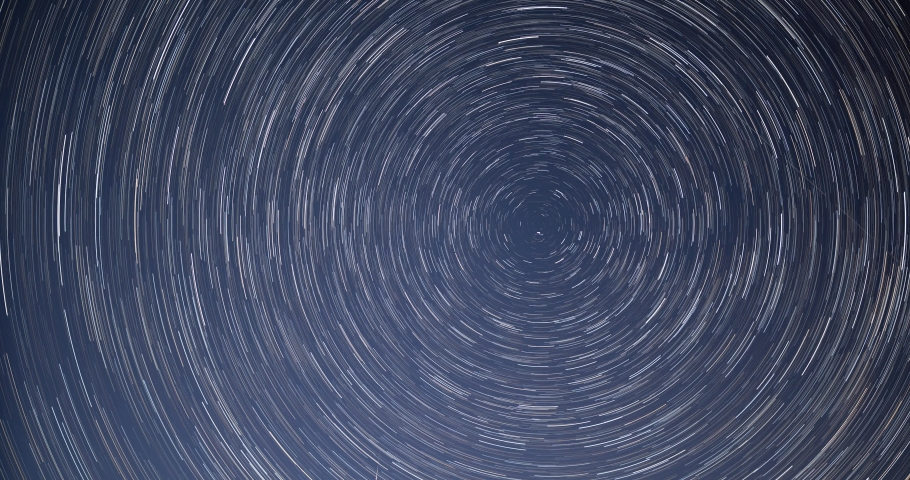 Star trails time lapse background | Shutterstock HD Video #1054359251