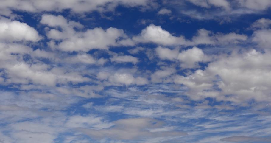 4K CLOUD dark bright fluffy clouds tropical #1054534685