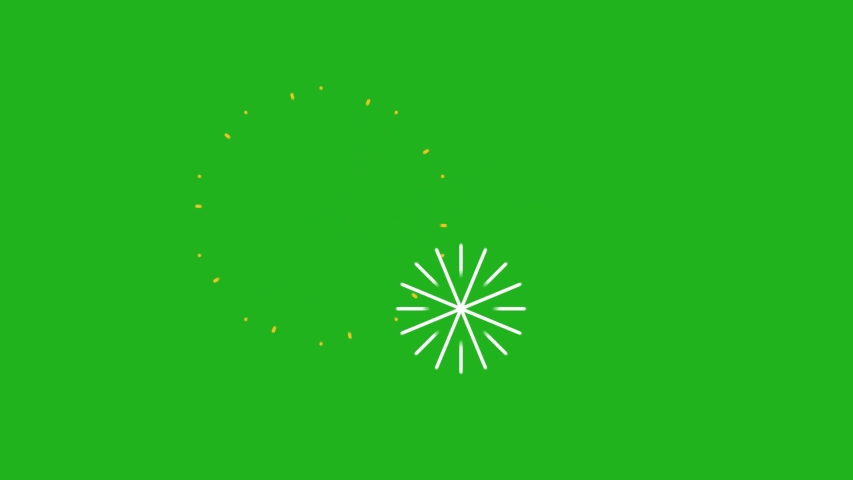 Fireworks motion graphics with green screen background Royalty-Free Stock Footage #1054547393
