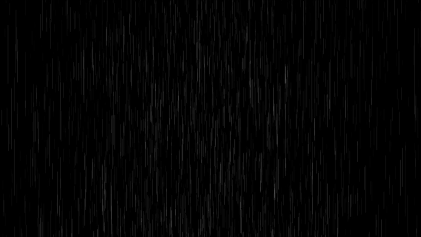 Slow motion of raindrops falling with alpha. Looped animation.   Shutterstock HD Video #1054684529