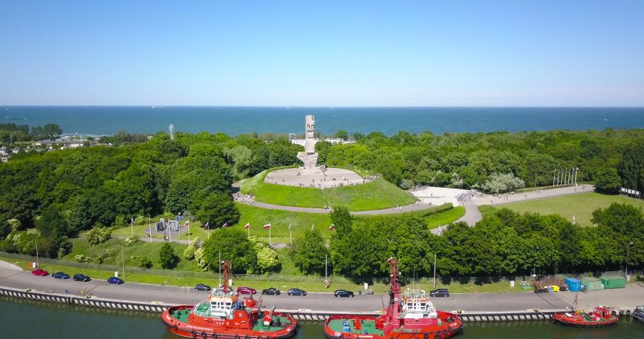 Westerplatte. Memorial of the Second World War