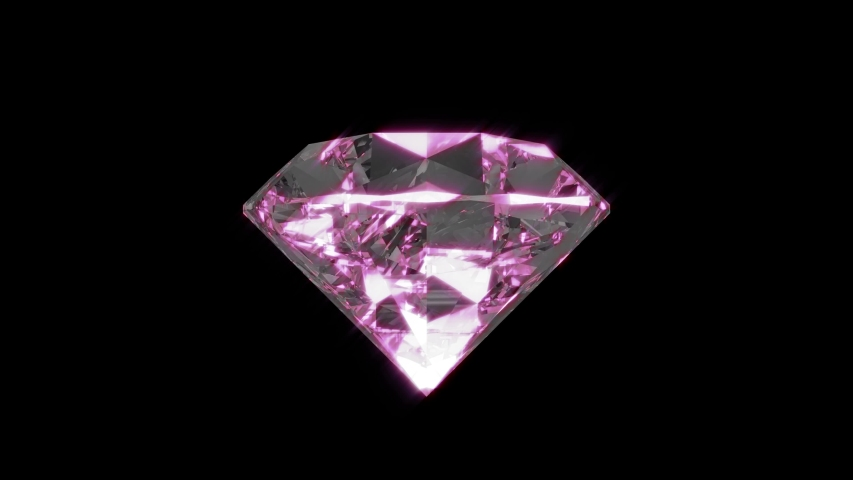 Beautiful large crystal clear shining round cut diamond isolate and green screen.   Shutterstock HD Video #1054716455
