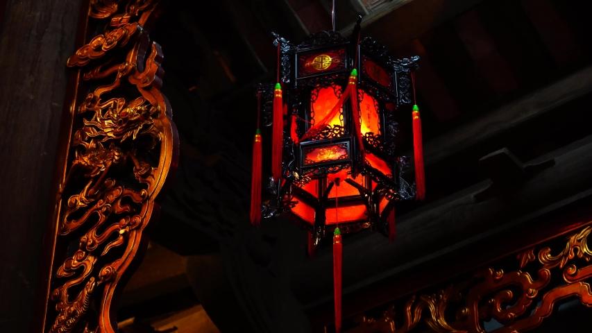 Red lamp rotate, close up | Shutterstock HD Video #1054716974